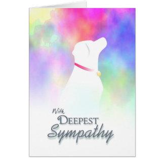 Djupast sympati - kort för sympati för