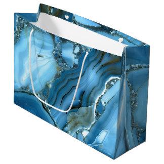 Djupblå marmor