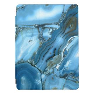 Djupblå marmor iPad pro skydd