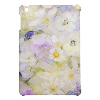 Djupfryst blommor iPad mini skal
