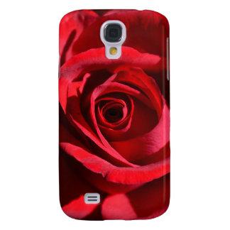 Djupt - fodral för röd rosSamsung galax S4 Galaxy S4 Fodral