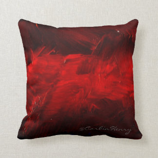Djupt - röda dekorativa kudder dekorativ kudde