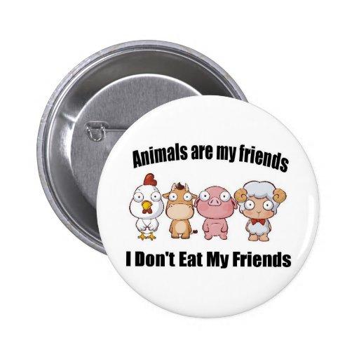 Djur är min vänner pins