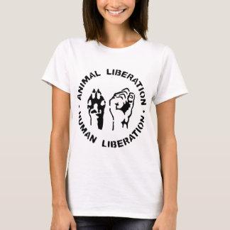 Djur befrielse - människabefrielse t-shirt