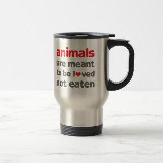 Djur betyds för att älskas, inte åt TravelMug Resemugg