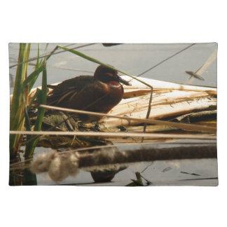 Djur för djurliv för ankaDucklingsfåglar Bordstablett