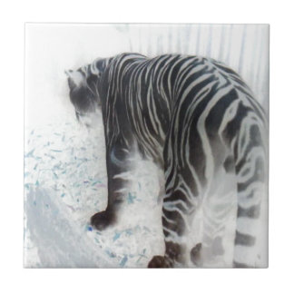 Djur för vittigervild kakelplatta