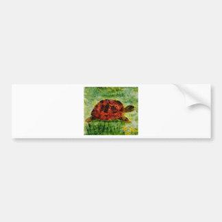 Djur konstsköldpadda för reptil bildekal