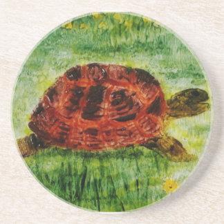 Djur konstsköldpadda för reptil underlägg