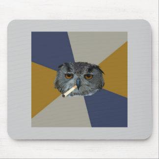 Djur Meme för rådgivning för uggla för konststuden Musmattor