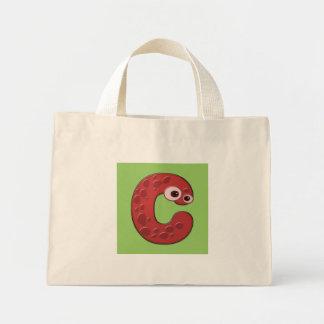 djur monogram - C Tote Bags