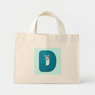 djur monogram - D Tote Bag