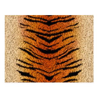 Djur päls för Bengal tiger Vykort
