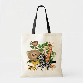 Djur Safari Tote Bag