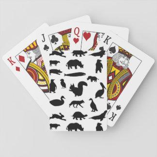 Djur Spelkort