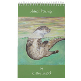 Djura målningar av Kirsten Sneath Kalender
