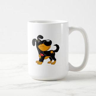 Djurälskare! Valp Kaffemugg