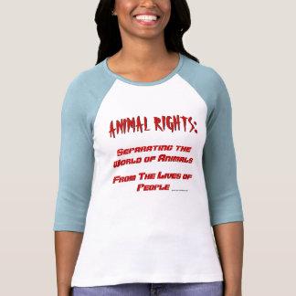 Djurens rättigheterdefinition t-shirt