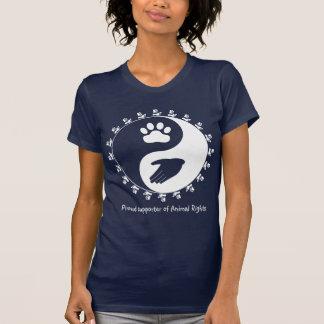 Djurens rättighetersupporterskjorta t-shirts