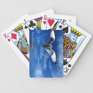 Djurliv som leker kort spelkort