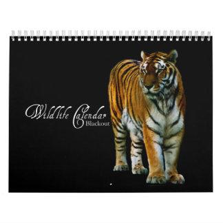 Djurlivkalender - blackout kalender