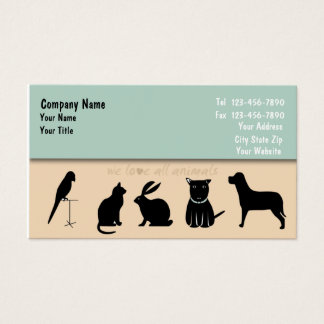 Djuromsorg visitkort