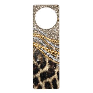 Djurt tryck för härlig moderiktig leopardfaux