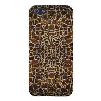 Djurt tryck för krokodil iPhone 5 hud