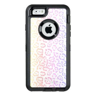Djurt tryck för pastellfärgad Kawaii OtterBox Defender iPhone Skal