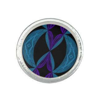 DNA för Aqualilasvarten kretsar Ringar