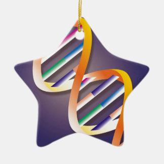 Dna-strålkastare Julgransprydnad Keramik