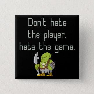DobbelGeek: Hata inte spelare Standard Kanpp Fyrkantig 5.1 Cm