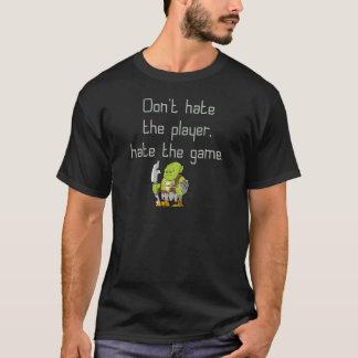DobbelGeek: Hata inte spelare T-shirt
