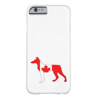 Doberman Kanada Barely There iPhone 6 Skal