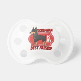 Dobermanen är min bästa vän napp