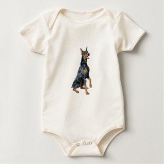 DobermanPinscher Bodies För Bebisar