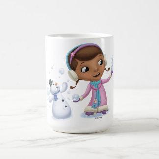 Doc McStuffins | Doc och kyligt leka i snö Kaffemugg