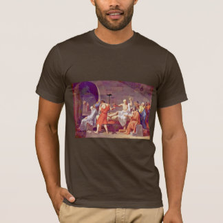 Död av Socrates av David Jacques-Louis (bäst Qua Tröjor