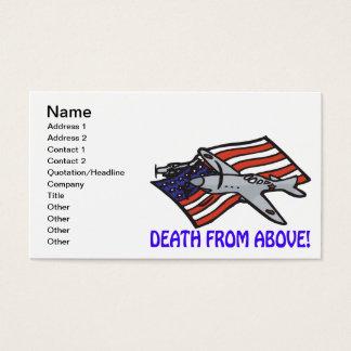 Död från över visitkort