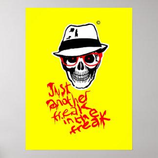 Död Thompson för jägare affisch
