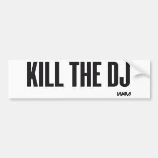 Döda DJEN Bildekal