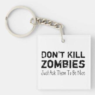 Döda inte Zombies, precis fråga dem att vara Nice.