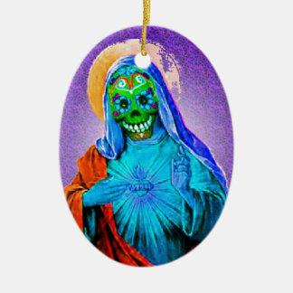 Döda Mary Julgransprydnad Keramik