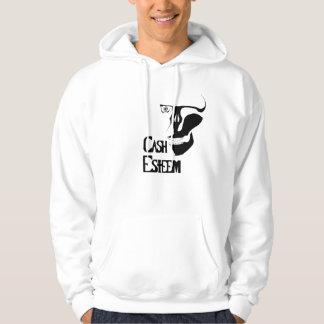 Döda pengar sweatshirt med luva