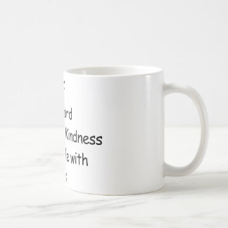 Döda Peole med vänlighet Kaffemugg