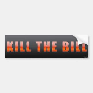 Döda räkningen bildekal