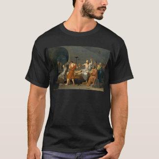 Döden av Socrates av Jacques-Louis David T-shirt