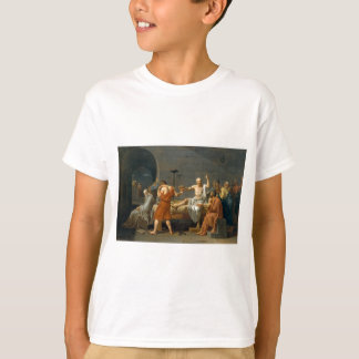 Döden av Socrates av Jacques-Louis David T-shirts