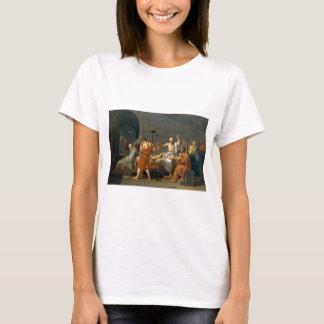 Döden av Socrates av Jacques-Louis David T Shirts