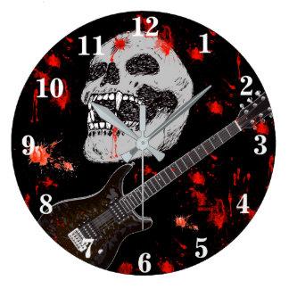 Dödmetallskallen tar tid på stor klocka